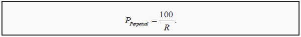 the present value formula